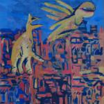 1999 Ptaci-VI 50x35cm